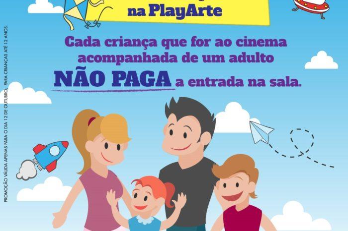 PLAYARTE PREPARA AÇÃO ESPECIAL PARA O DIA DAS CRIANÇAS!