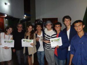 Curta Cabo Frio- Festival de Cinema com Marllus Henrique, meu aluno e diretor do curta Candura, rumo a mais curtas!!!
