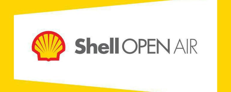 Conheça a programação do Shell Open Air