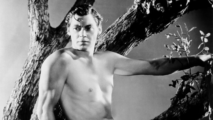 Tarzan leva para a tela o primeiro medalhista olímpico, Johnny Weisemuller, no cinema de ficção