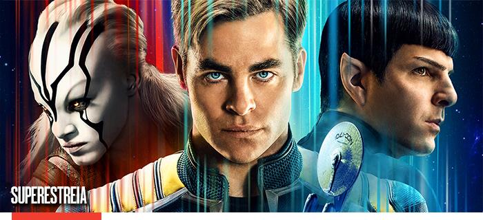 Star Trek Sem Fronteiras chega no Telecine
