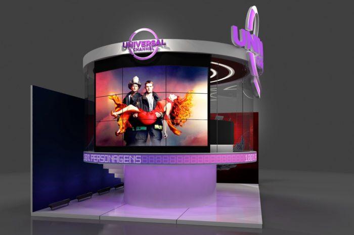 Canal Universal leva glass studio e ação de Lucifer à CCXP