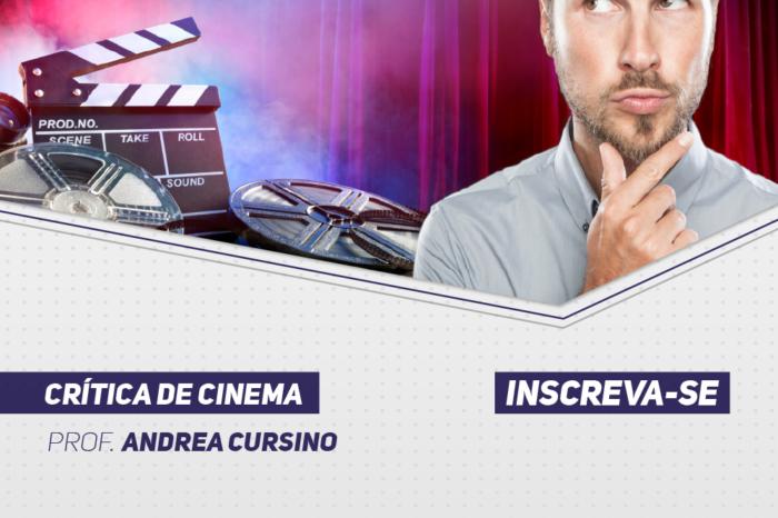 Estão abertas as inscrições para a nova turma de Crítica de Cinema na FACHA com a Professora Andréa Cursino.
